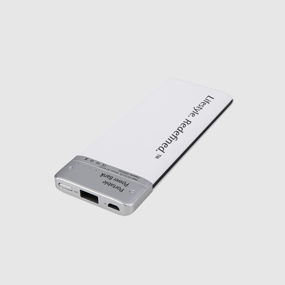 Ice Echo New Model Portable Exclusive Slim 6000mah Power Bank - Hottest!