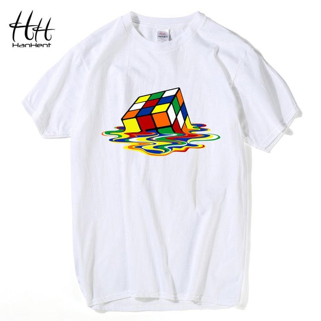Melting Rubix Cube T-Shirt