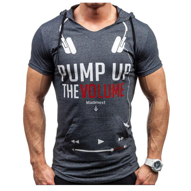 Pump Up The Volume - Headphone & Player on T-Shirt Hoodie