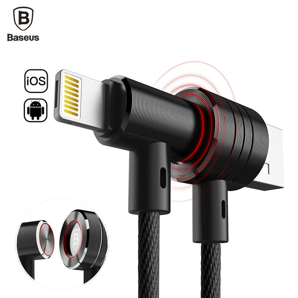 Lightning & Micro USB Hybrid Charging Sync cable