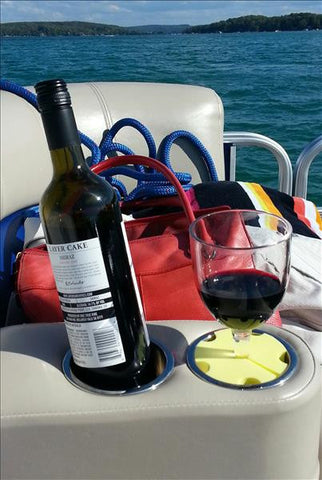 Wine Widgy - Wine Glass Holder for Boat Cupholders