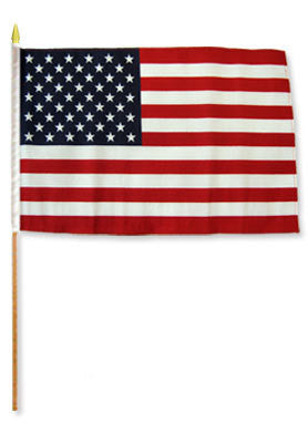 USA Stick Flags (Multiple Sizes)