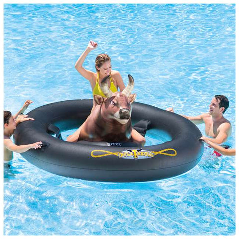 Inflatabull Bull-Riding Float