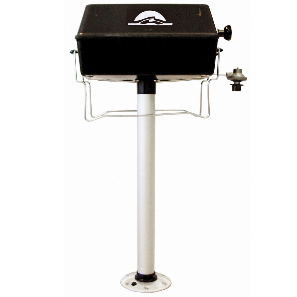 Pontoon Propane Grill With Pedestal Pontoon It
