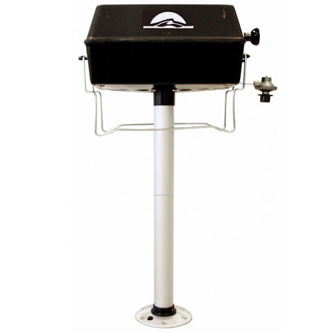 Pontoon Propane Grill with Pedestal