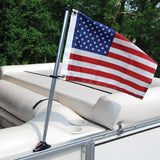 Pontoon USA Flag Kit with Mount