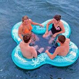 Social Float - 4 Person with drink holders
