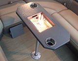 Pedestal Pontoon Fireplace