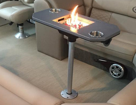 Pedestal Pontoon Fireplace Pontoon It