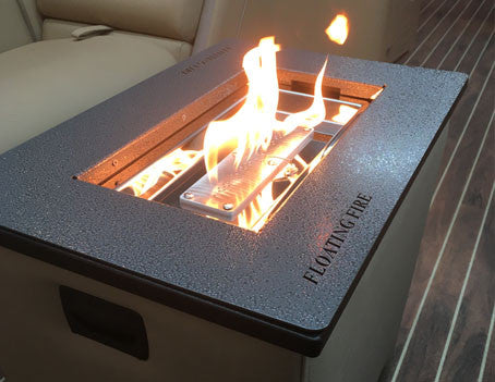Portable Pontoon Fireplace Pontoon It