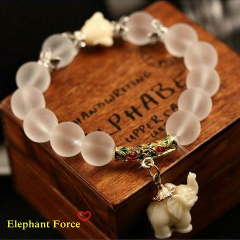 "AB1 Bracelets Collection ""Eleven  Elephants"" Positive.  High Quality 2016. FREE + Just Pay Shipping"