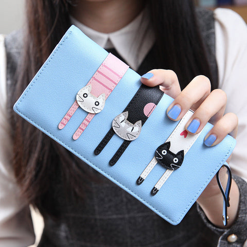 Adorable Kitten Wallet. 2016 New Fashion. High Quality.  FREE Shipping !! & Bonus !!
