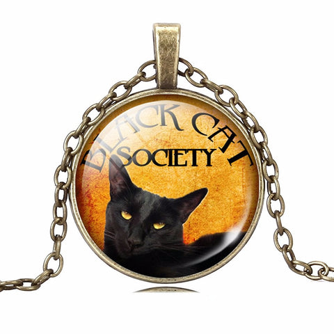 "ABN Bronze Necklase ""Beautiful Black Cat""Exclusive. Worldwide Free Shipping"