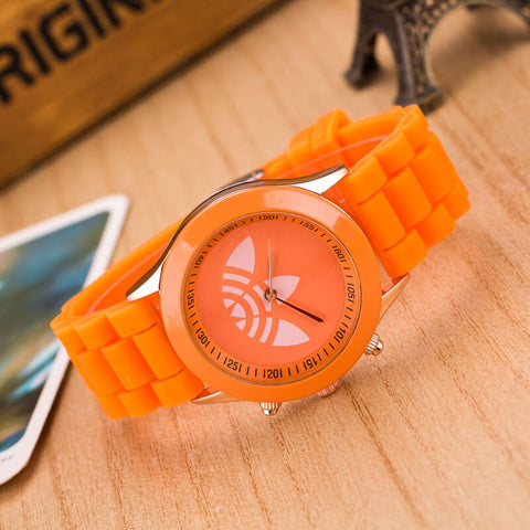 "Quartz watch ""Renewal of color"" Sport Men/Women. High density silicone. HQ 2017"