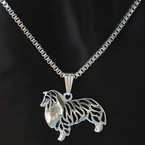 "Necklase ""My great friend Collie"" Dog Lover . FREE + JUST PAY SHIPPING"