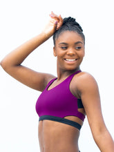 Load image into Gallery viewer, Michelle Cut-Out Sports Bra