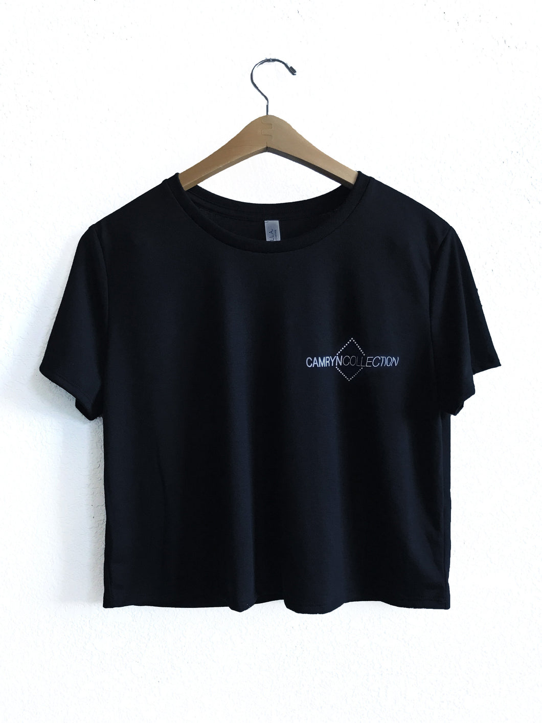 Camryn Collection Logo Cropped T-shirt