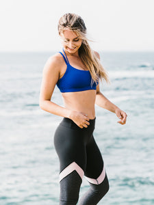 Black and charcoal leggings - Valleau Apparel