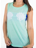 Mint Mermaid Muscle Tank top t-shirt.