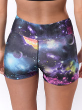 Load image into Gallery viewer, Galaxy workout yoga shorts - Valleau Apparel