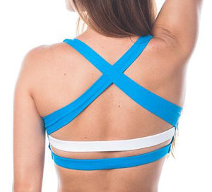 Sea Breeze in Caribbean Blue & White *Only XS left!