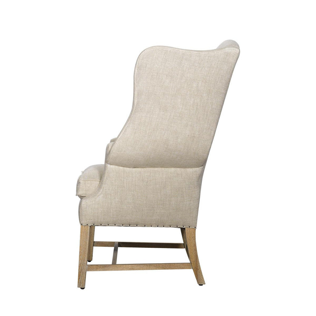 Curations Limited New Age Linen Chair