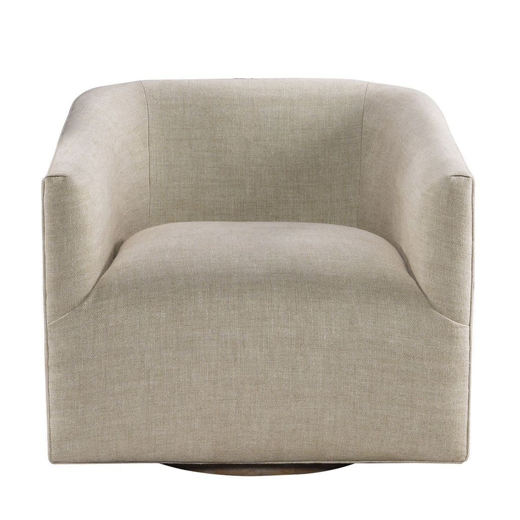 Sete Swivel Arm Chair