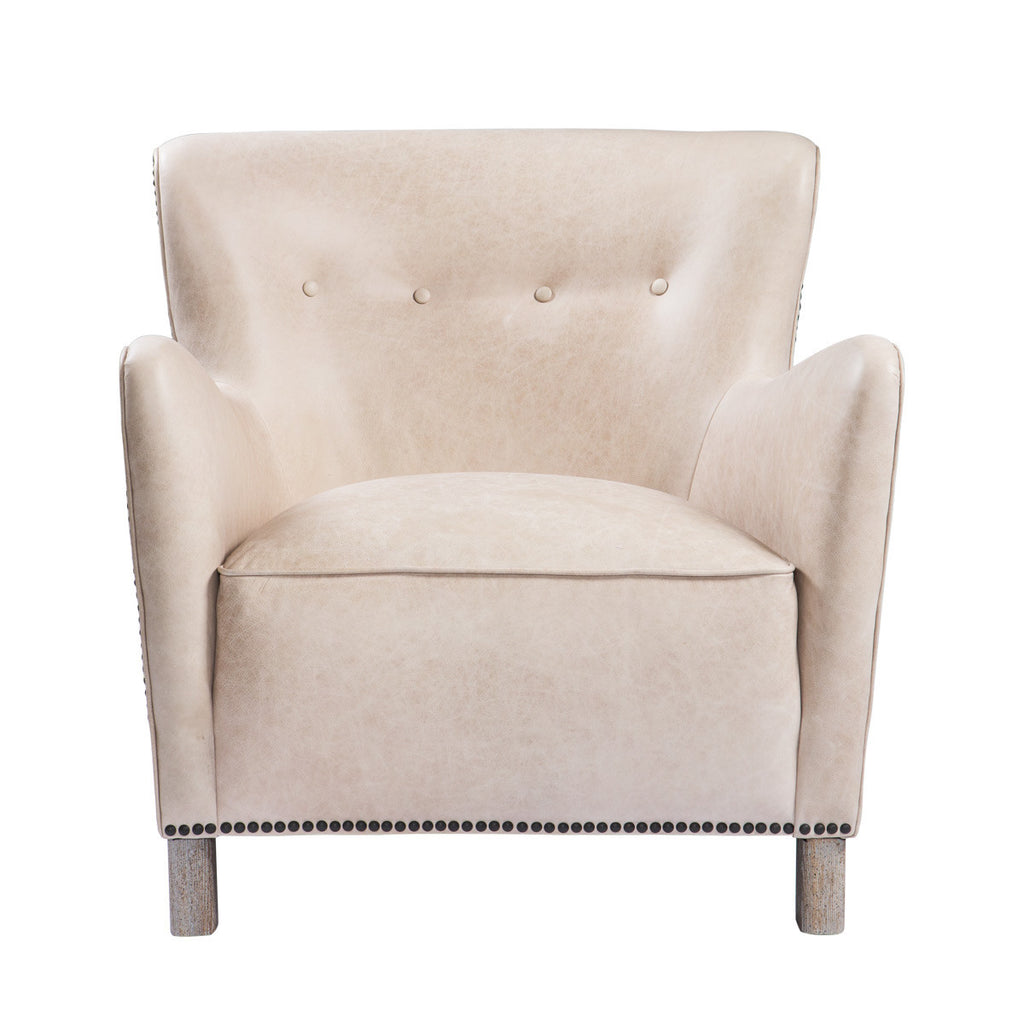 Savona Leather Arm Chair