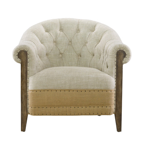 Curations Limited Deconstructed Chambery Back Armchair