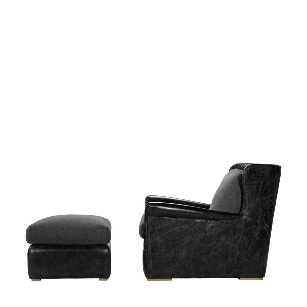 Curations Limited Winslow Leather Lounge Chair