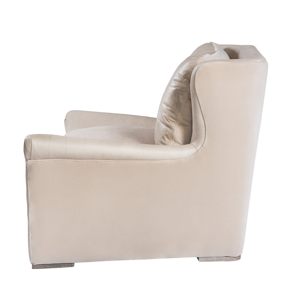 Winslow Granite Leather Lounge Chair