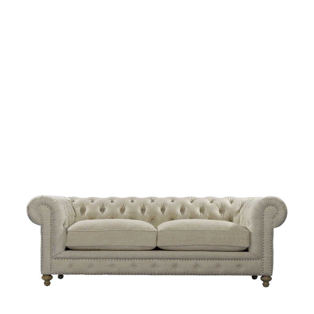 "Curations Limited 90"" Cigar Club Sofa"