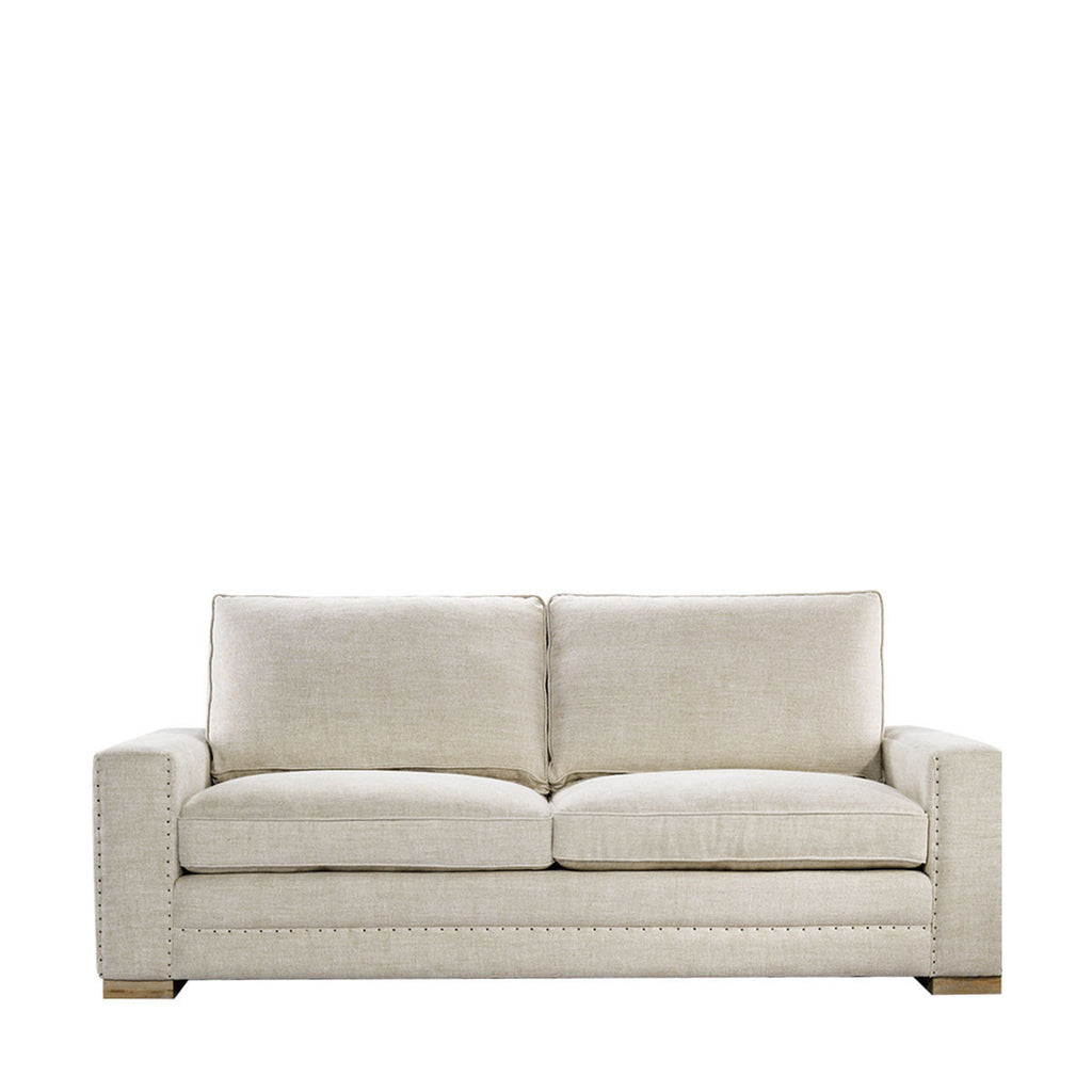 Curations Limited Bleeker Linen Sofa