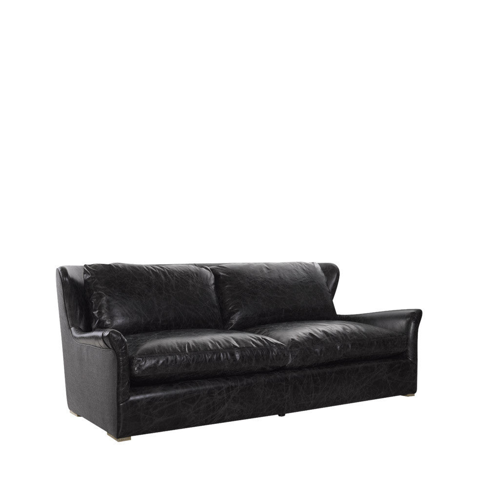 Curations Limited Winslow Leather & Wool Sofa