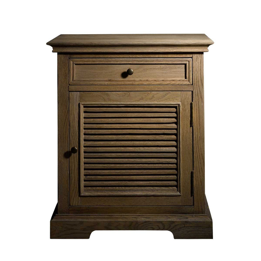 Curations Limited Britania Shutter Accent Table