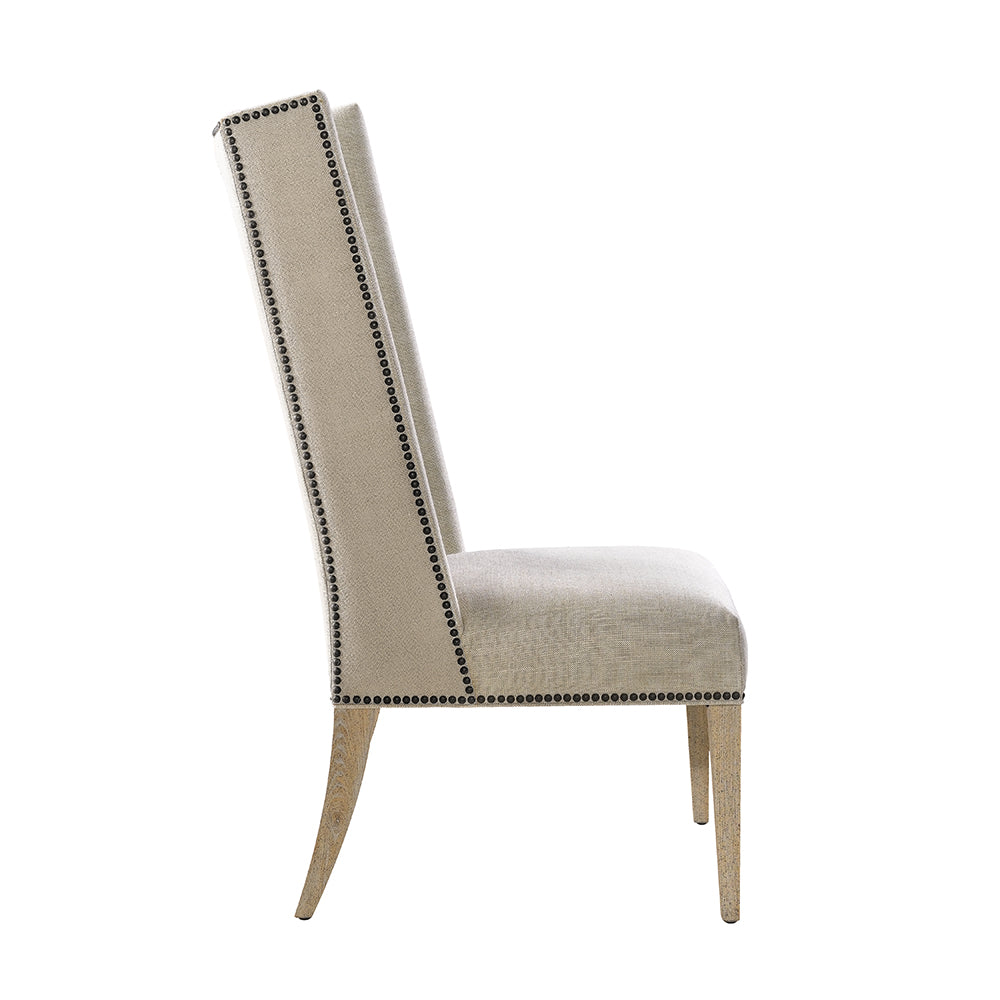 Bertrix Linen Chair