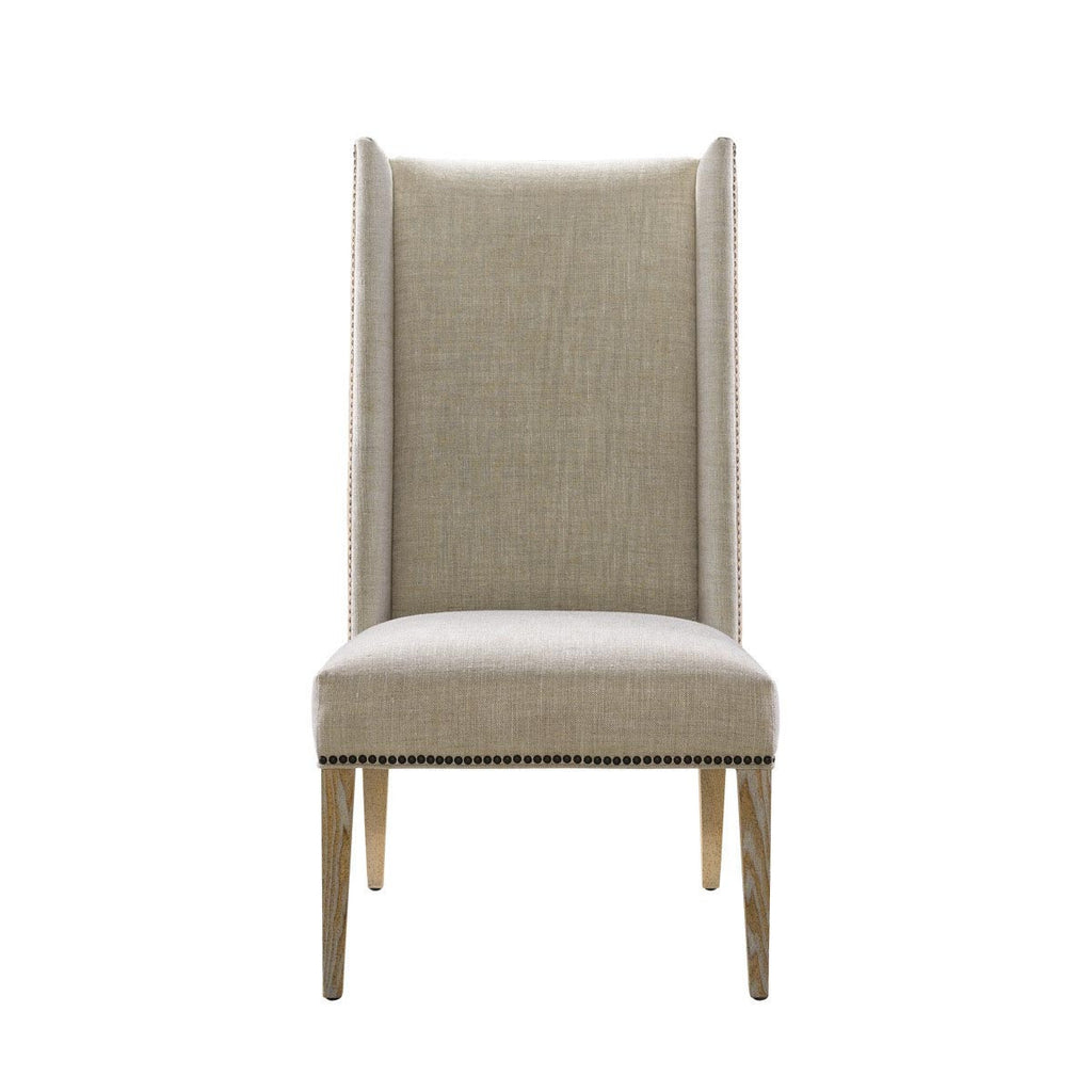 Curations Limited Bertrix Linen Chair
