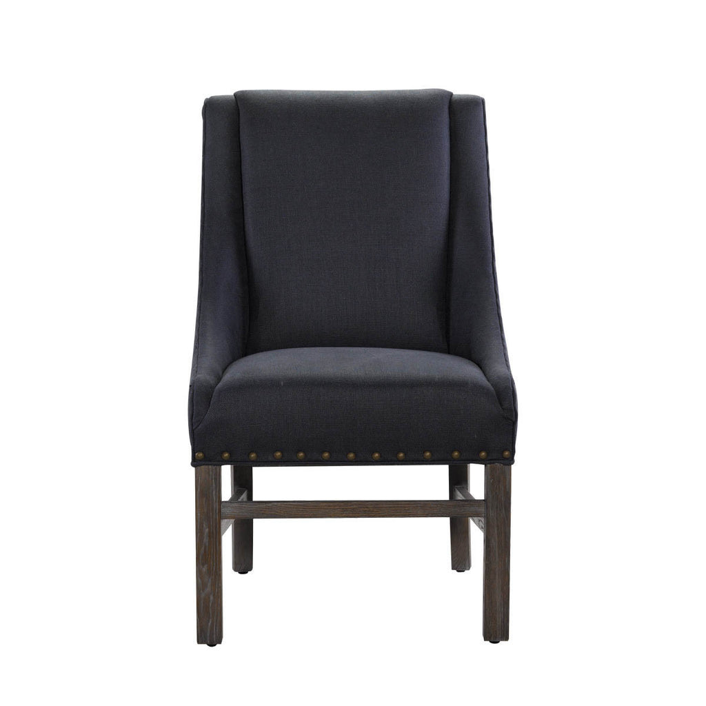 Curations Limited New Indigo Trestle Chair