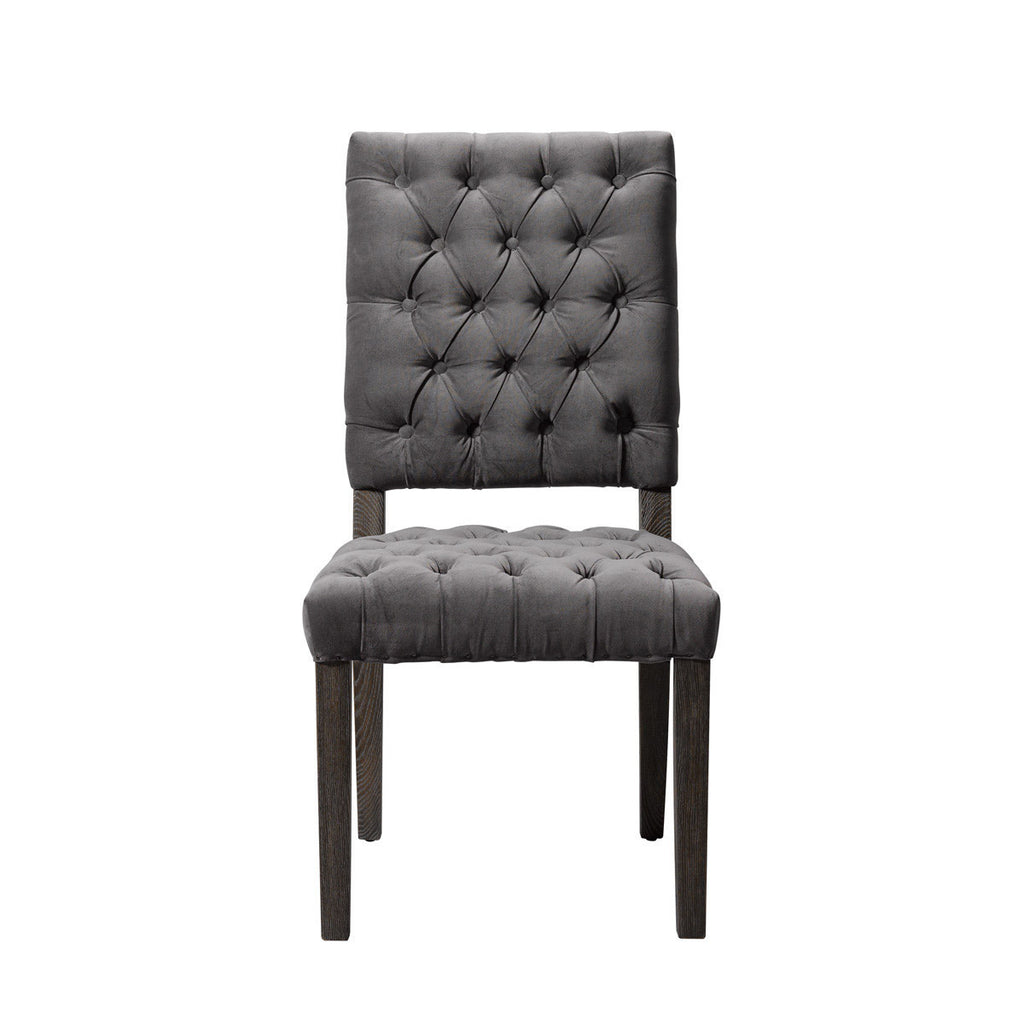 Curations Limited Chambery Velvet Chair