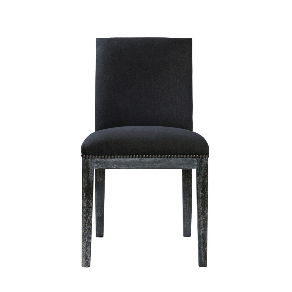 Pavia Vintage Black Chair