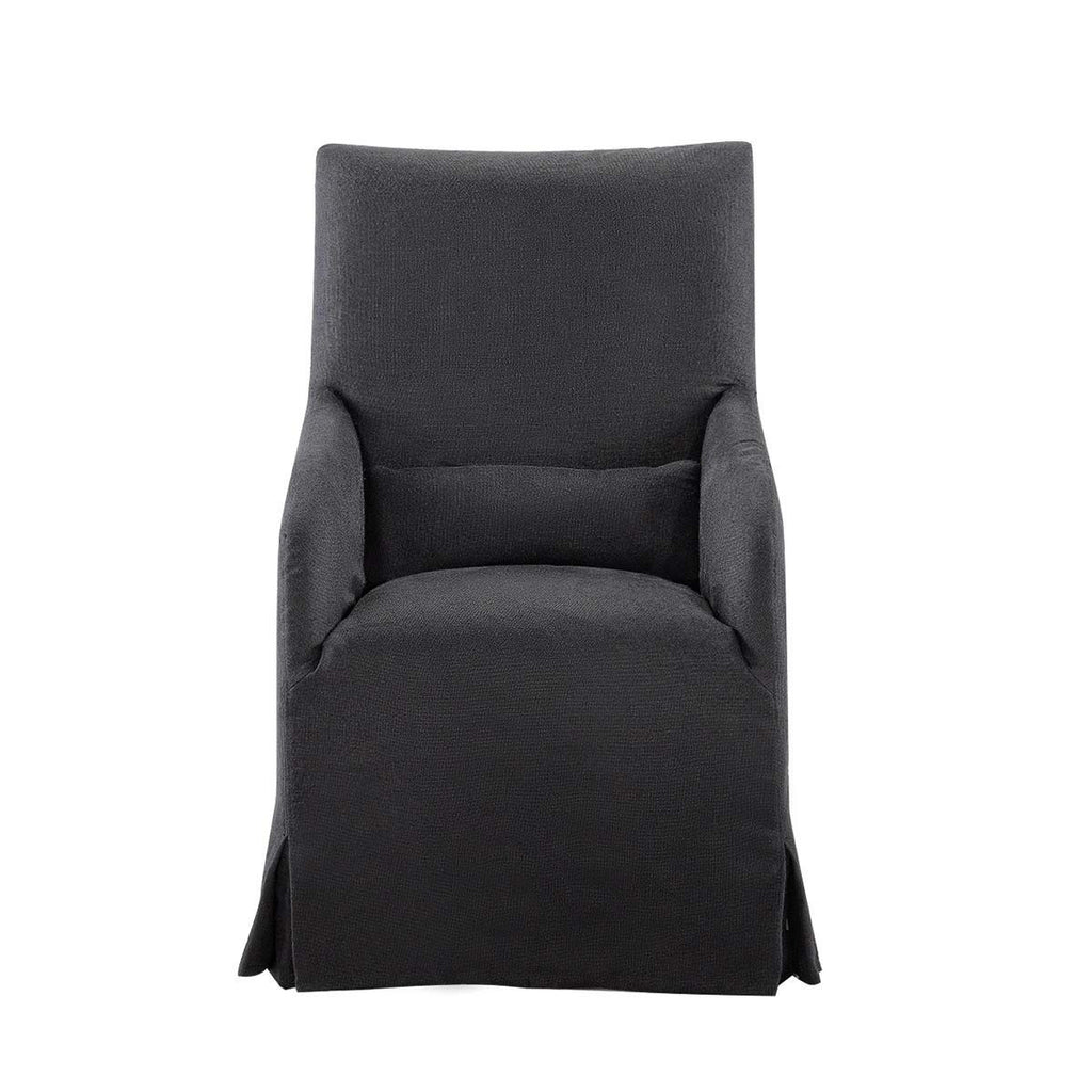 Curations Limited Flandia Black Arm Chair