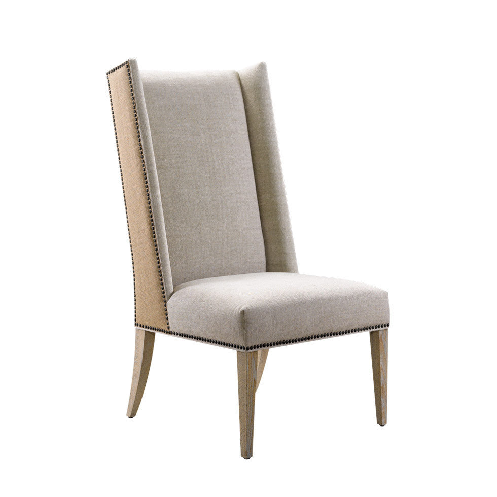 Curations Limited Bertrix Hemp & Linen Chair