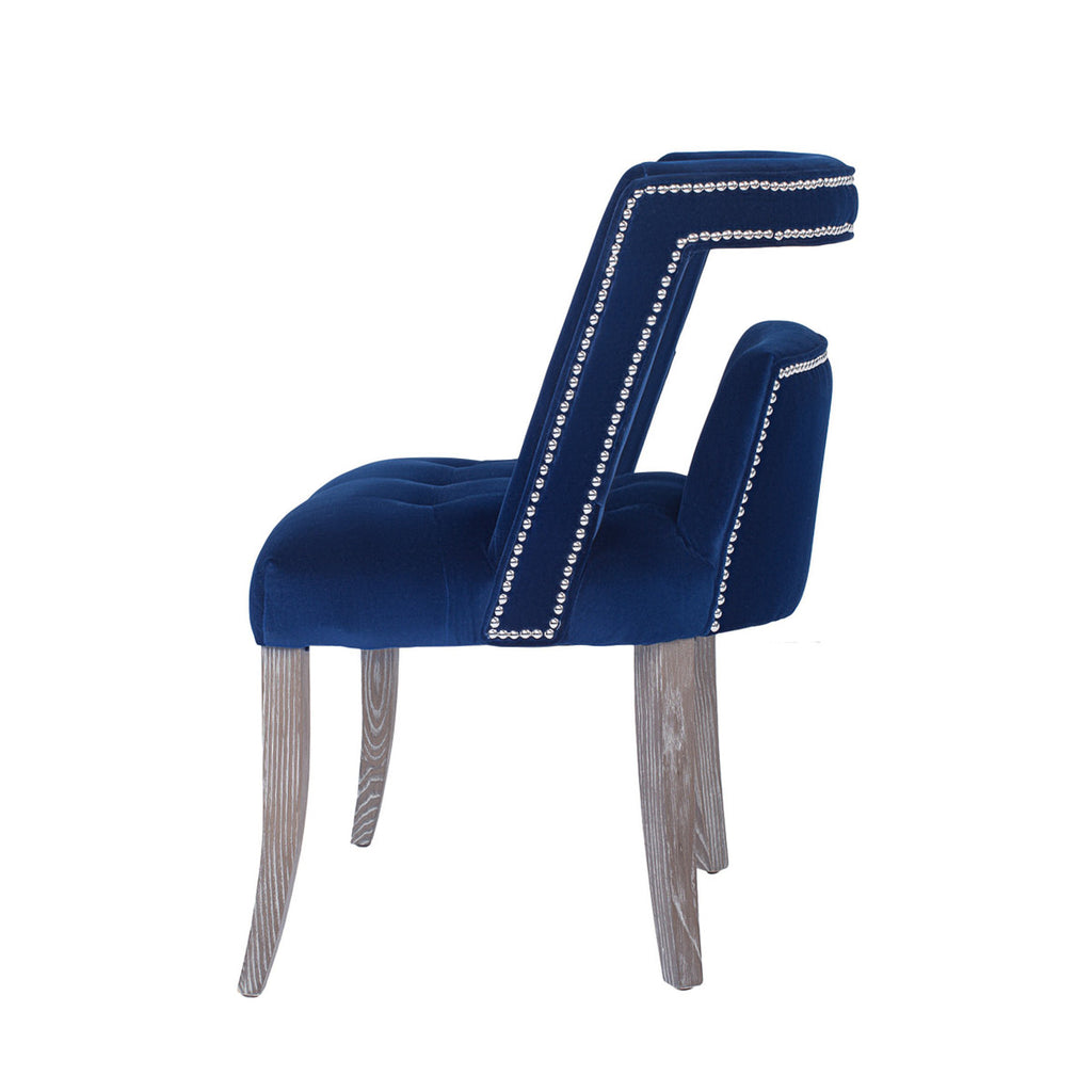 Parisian Velvet Dining Chair