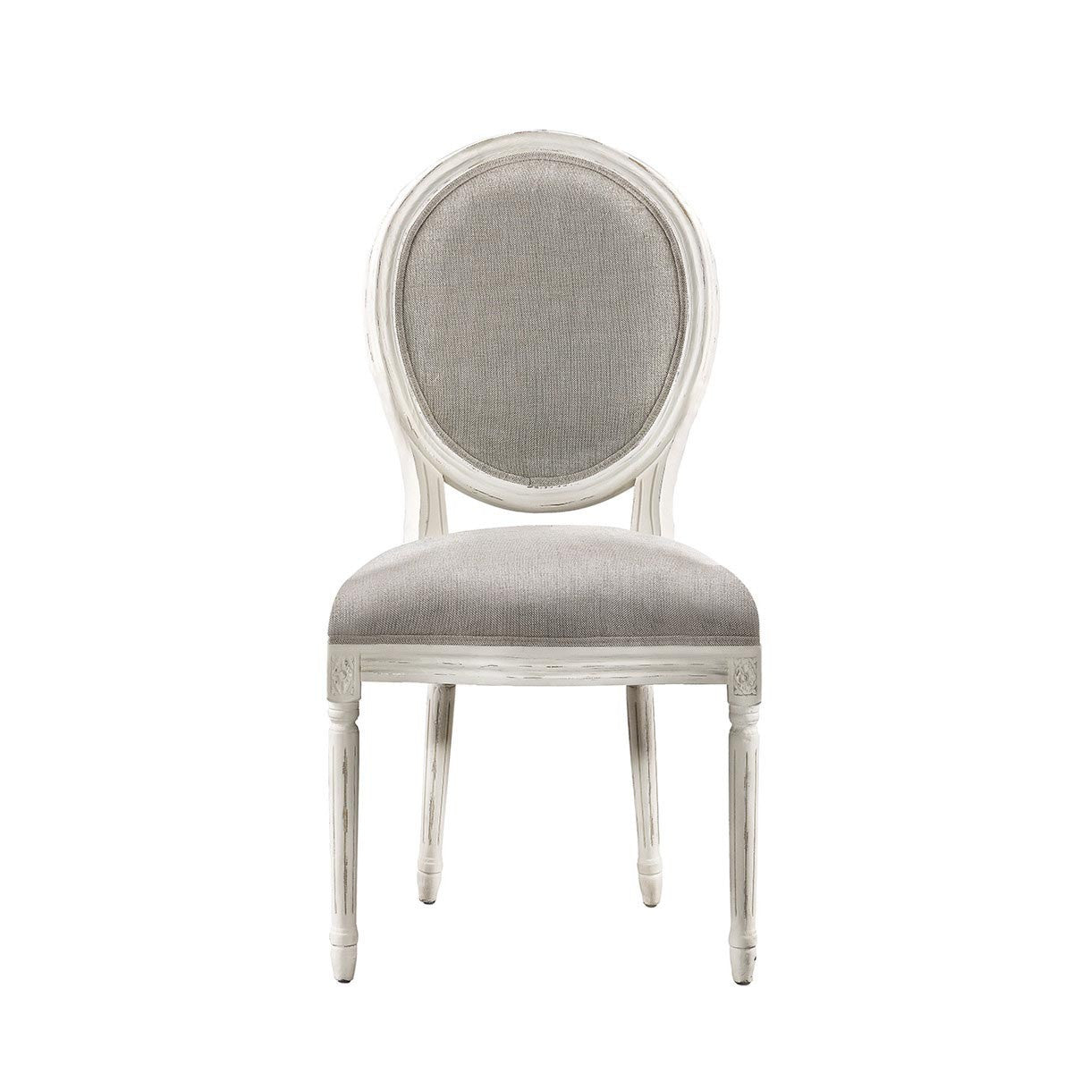 Antique White Side Chair Coaster 100562 Matisse Antique White Side Chair Seaboard Home Styles