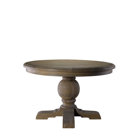 "Curations Limited 48"" Round Trestle Table"