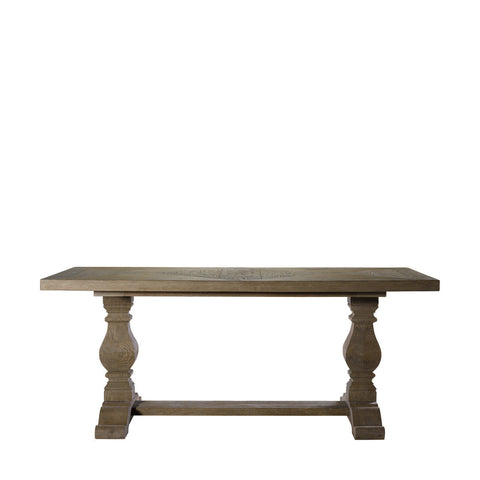 "Curations Limited 84"" New Trestle Table"