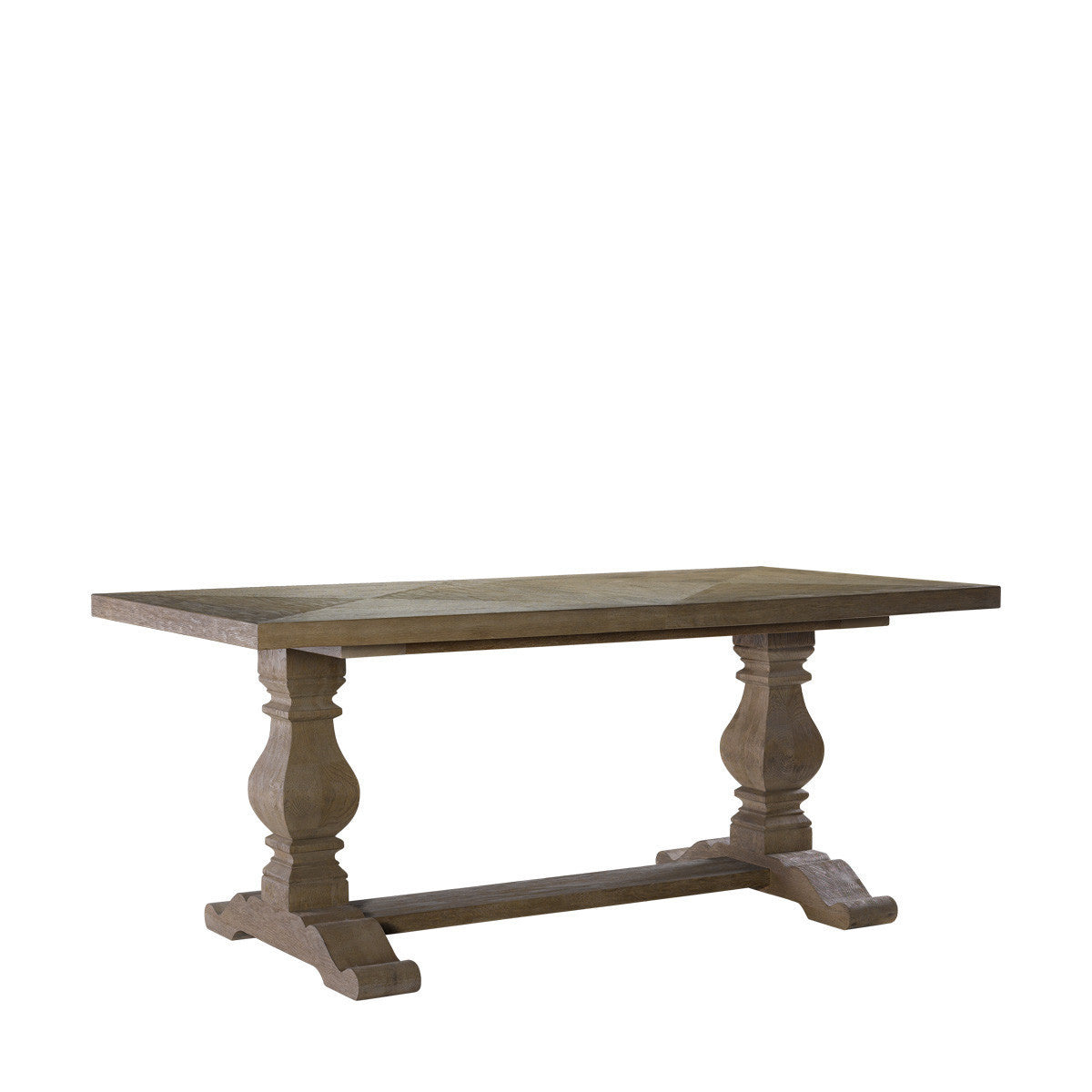 """Curations Limited 84"""" New Trestle Table"""