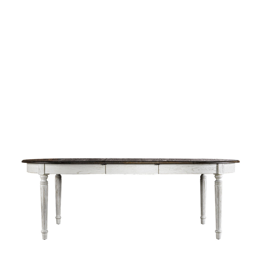 "Curations Limited 72"" Maison Vintage White Table"