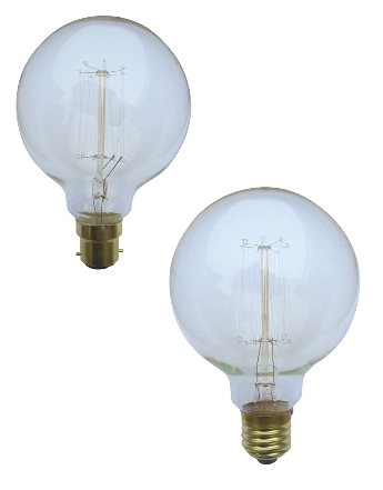 Carbon Filament Spherical Bulbs