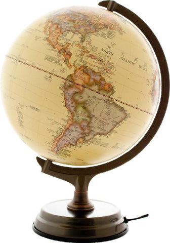 *World Globe Lamp